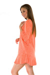Clemson Tigers Syd Ruffle Dress