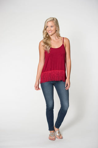Fringe Tank with Fly-Away Back