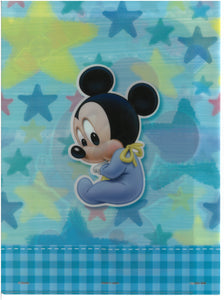 2129-795   Mickey And Minnie Mouse  A4 雙開透明文件夾