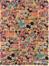 Load image into Gallery viewer, 2141-248  Mickey Mouse  A4 雙開透明文件夾
