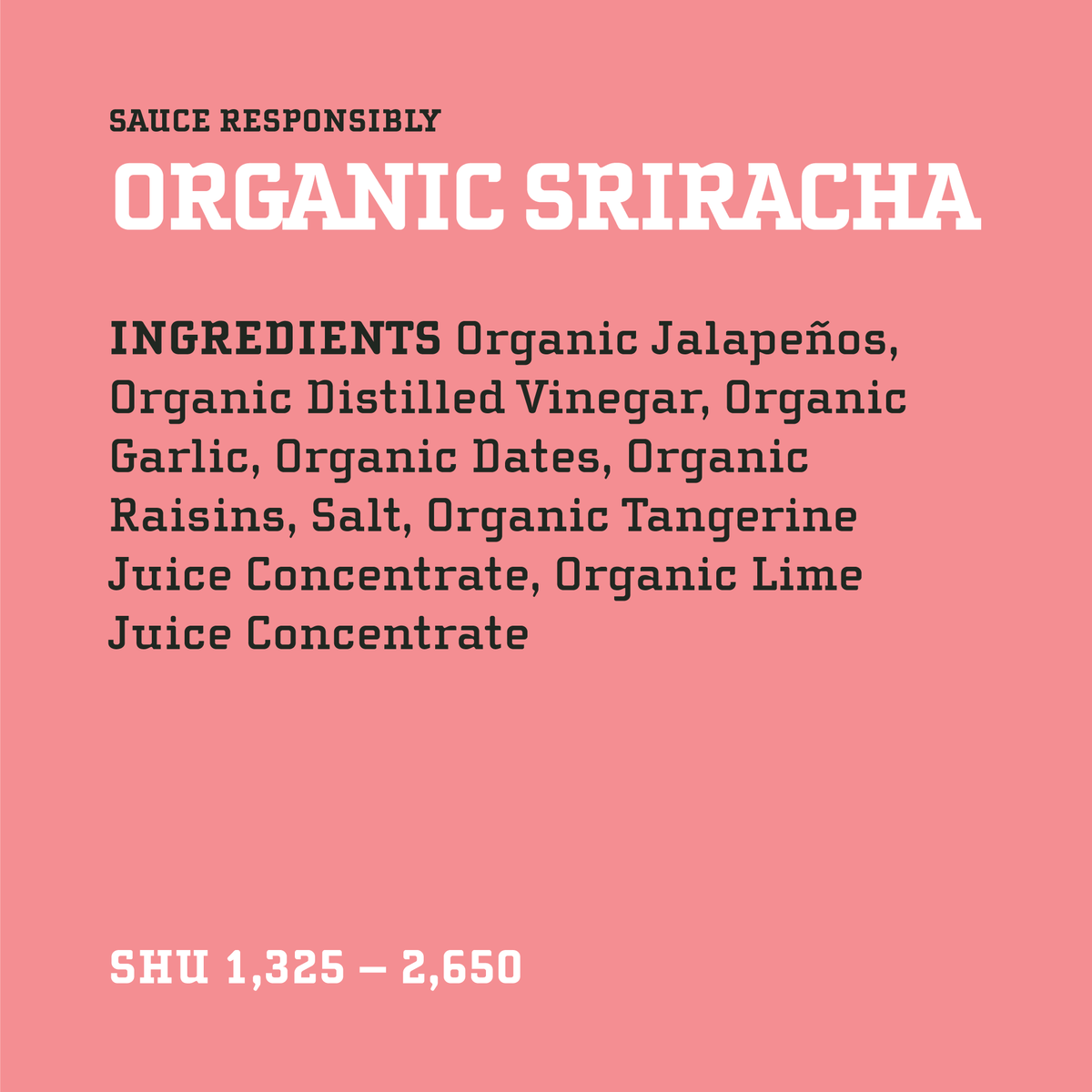 Yellowbird Organic Sriracha Multipacks