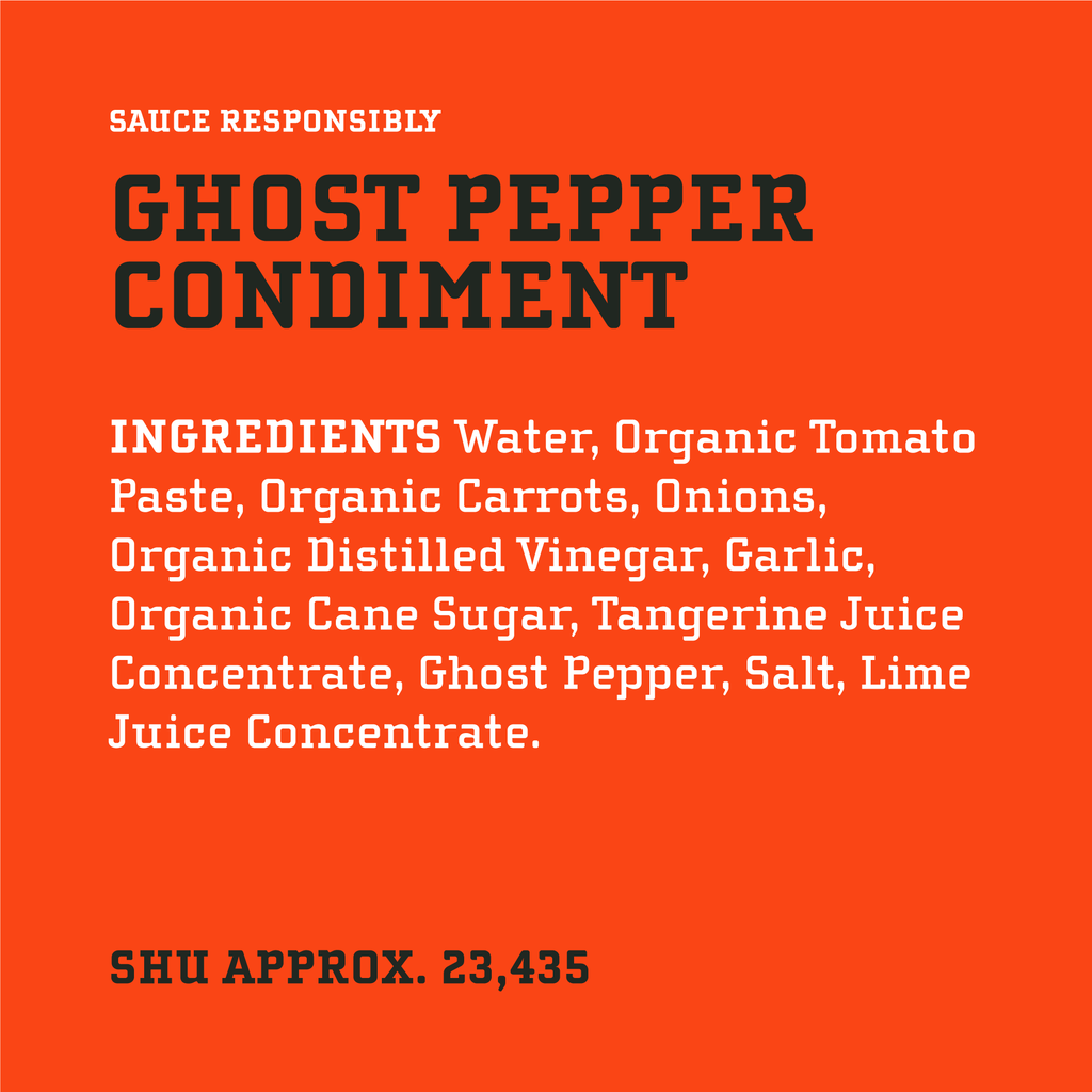 Original Ghost Pepper Condiment