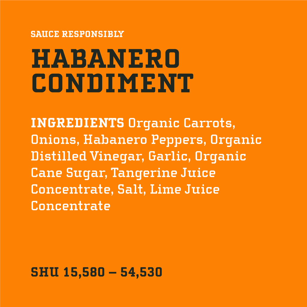 Original Habanero Condiment