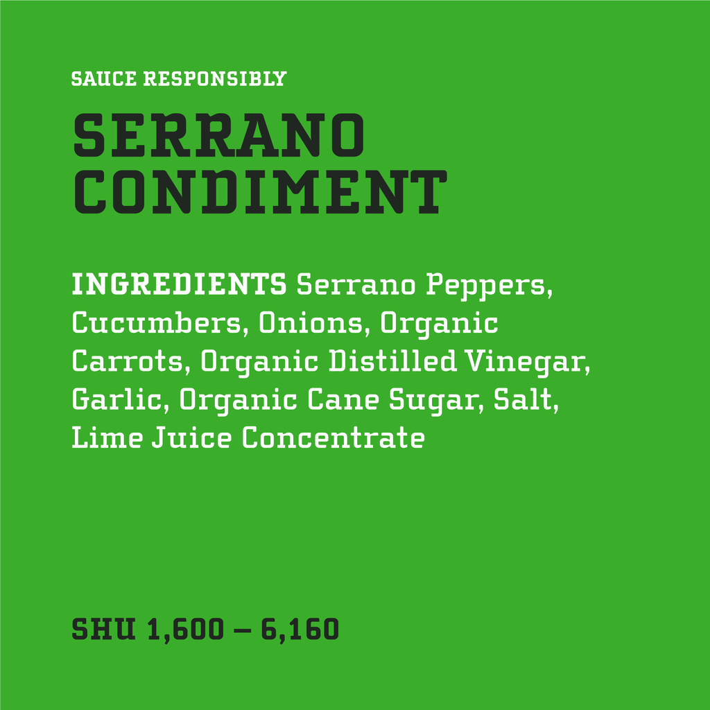 Original Serrano Condiment