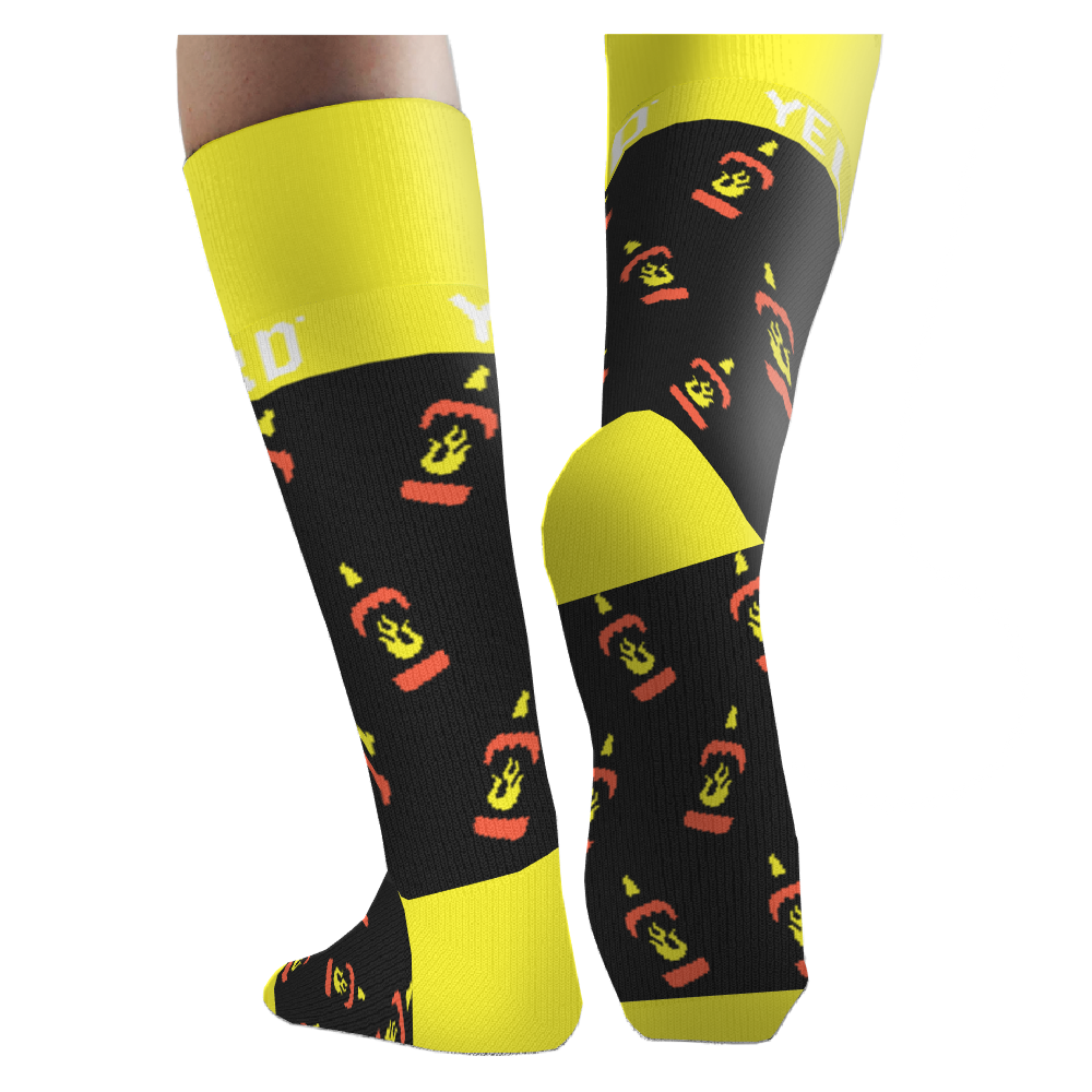 YBS Flame Socks