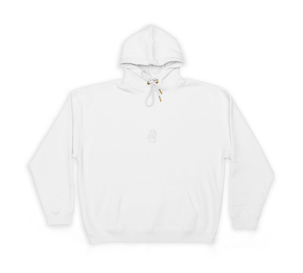 White Hoodie ''DS Embroidery''