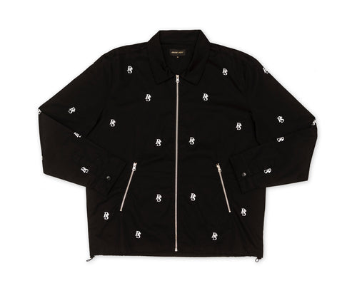 Black City Jacket ''Overall DS embroideries''