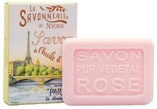 "Load image into Gallery viewer, La Savonnerie de Nyons: ""La Seine"" Rose Guest Soap, 25g"
