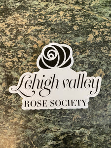 LV Rose Society Sticker