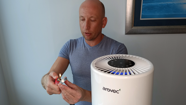 Arovec Air Purifier Tests
