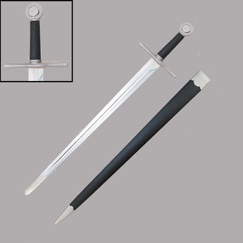 Sword of Alexandria with Leather Scabbard - knifeblade-store