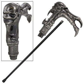Galaxy Cyborg Alien Walking Cane - knifeblade-store