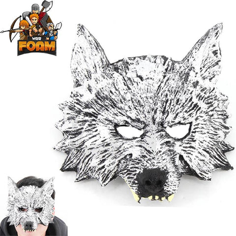 Wolf Head Mask for Costume Cosplay Halloween Masquerade - knifeblade-store