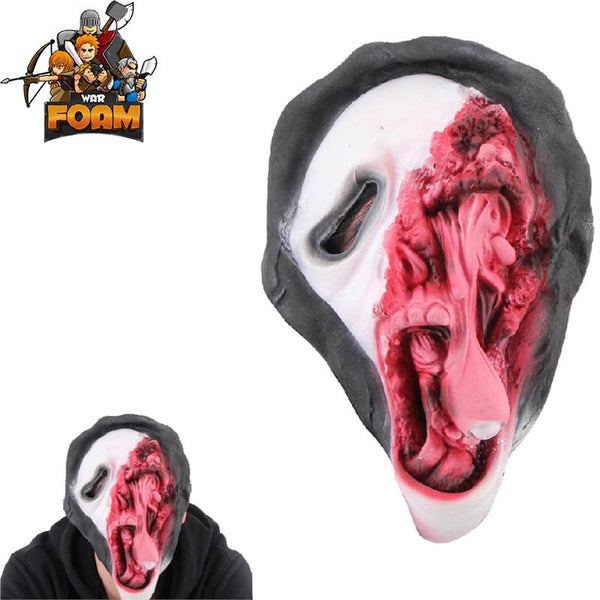Ghost Face Scary Horror Mask For Cosplay Halloween Masquerade - knifeblade-store