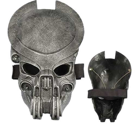 Alien Vs Predator Hunter Movie Cosplay Mask With LED Lights - knifeblade-store