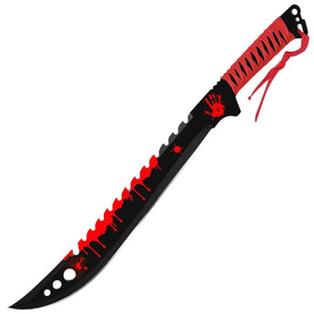 Blood on the Wall Parang Machete - knifeblade-store