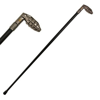 37 Inches Grenade Style Cane Gentleman's Walking Stick Cane - knifeblade-store