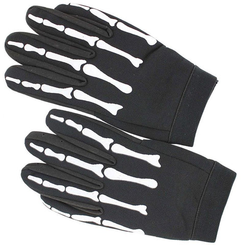 Death Reaper Mechanic Biker Costume XL Work Gloves - knifeblade-store