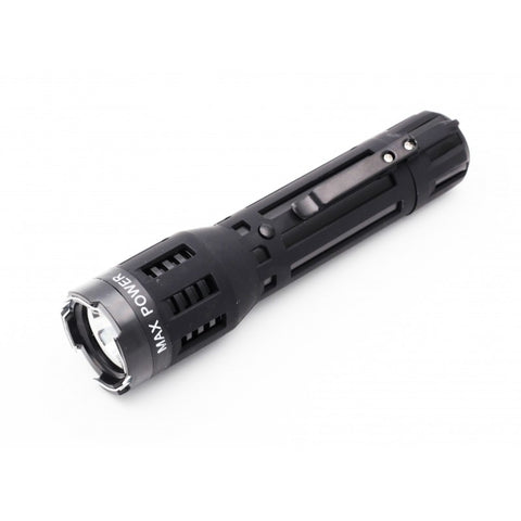 Self Defensive Predator Black Powerful Flashlight Stun Gun - knifeblade-store