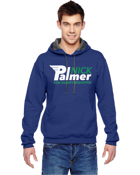 Nick Palmer - Fruit of the Loom - Sofspun Hooded Pullover Sweatshirt