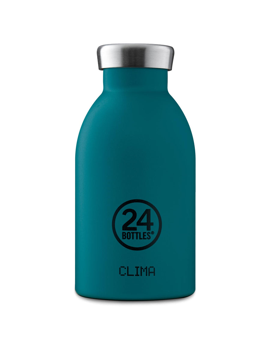 24 Bottles Clima Insulated Bottle 330ml Atlantic Bay Stone