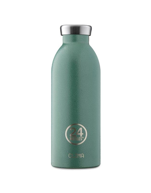 24 Bottles Clima Insulated Bottle 500ml Moss Green