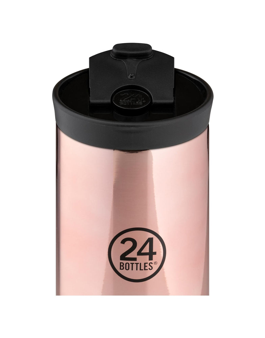 24 Bottles Travel Tumbler 350ml Rose Gold