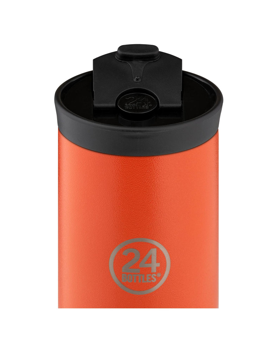 24 Bottles Travel Tumbler 350ml Sunset Orange