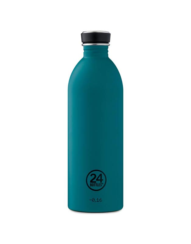 24 Bottles Urban Bottle 1.0L Atlantic Bay Stone