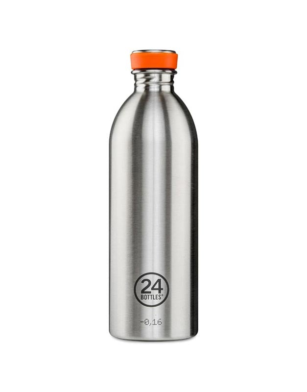 24 Bottles Urban Bottle 1.0L Steel