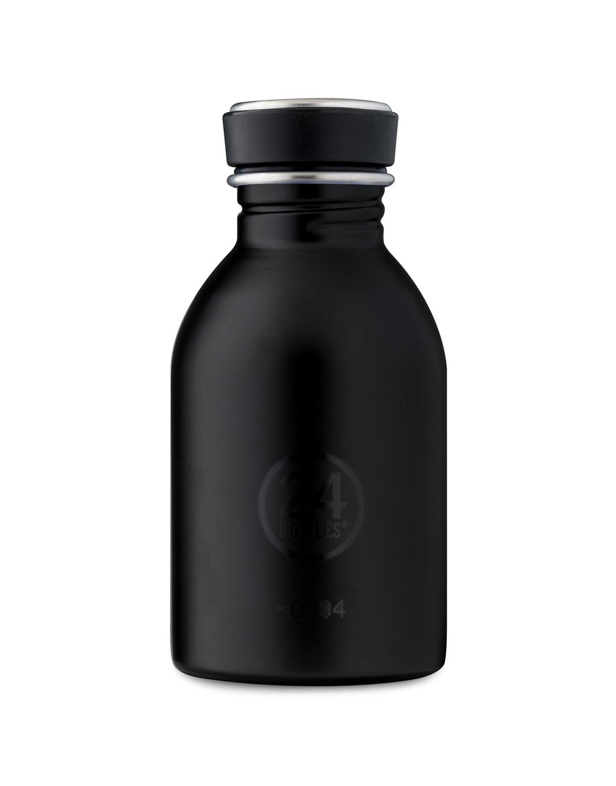 24 Bottles Urban Bottle 250ml Tuxedo Black