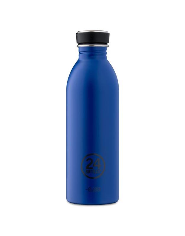 24 Bottles Urban Bottle 500ml Gold Blue