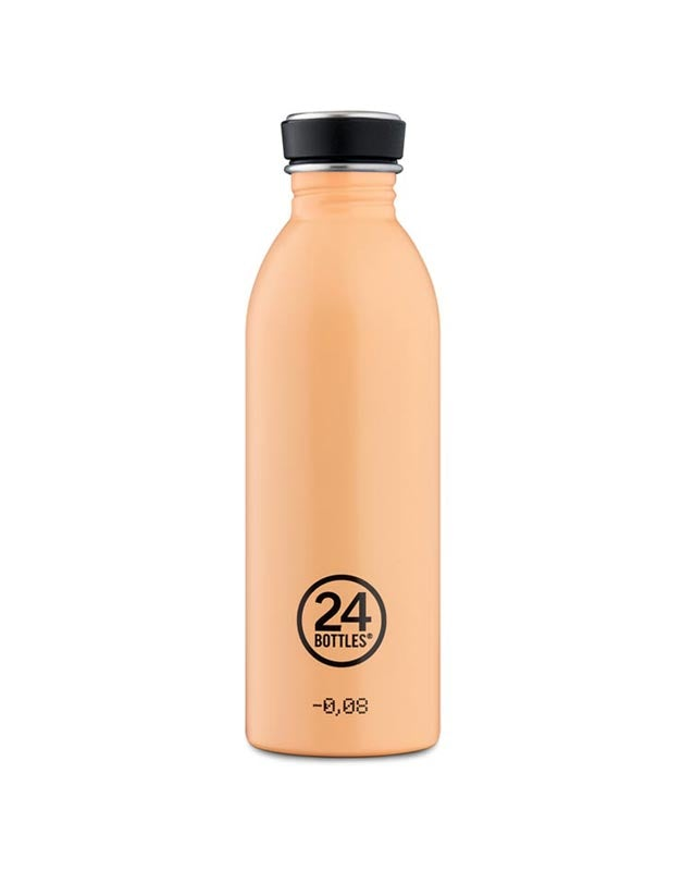 24 Bottles Urban Bottle 500ml Peach Orange
