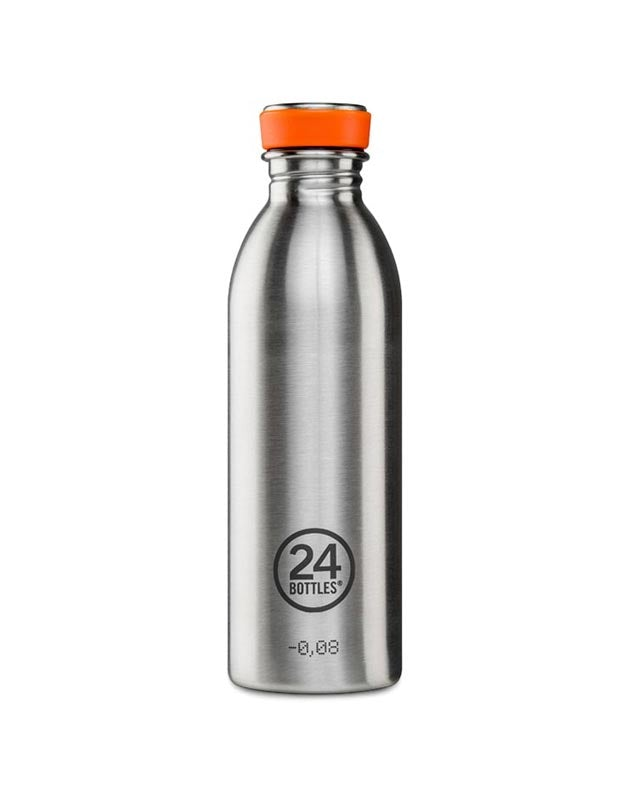 24 Bottles Urban Bottle 500ml Steel