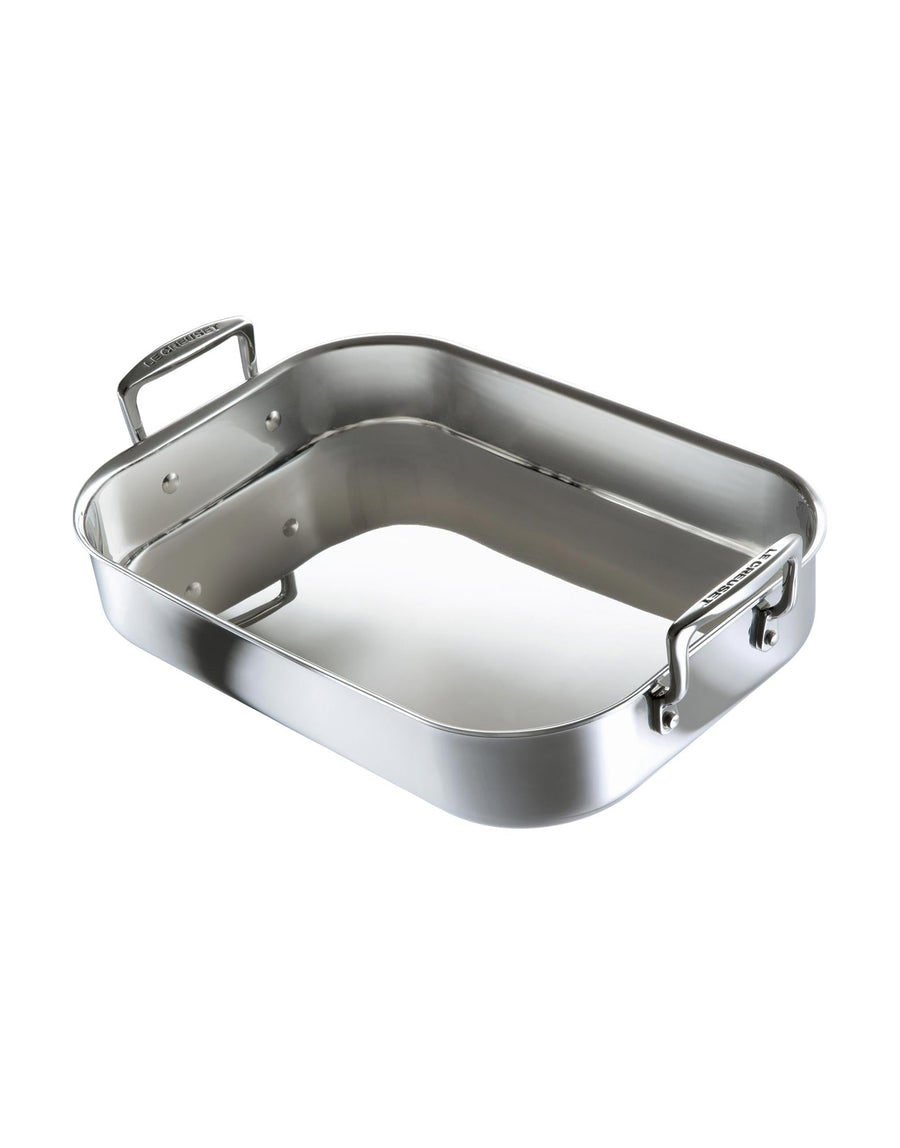 Le Creuset 3-Ply Stainless Steel Rectangle Roaster