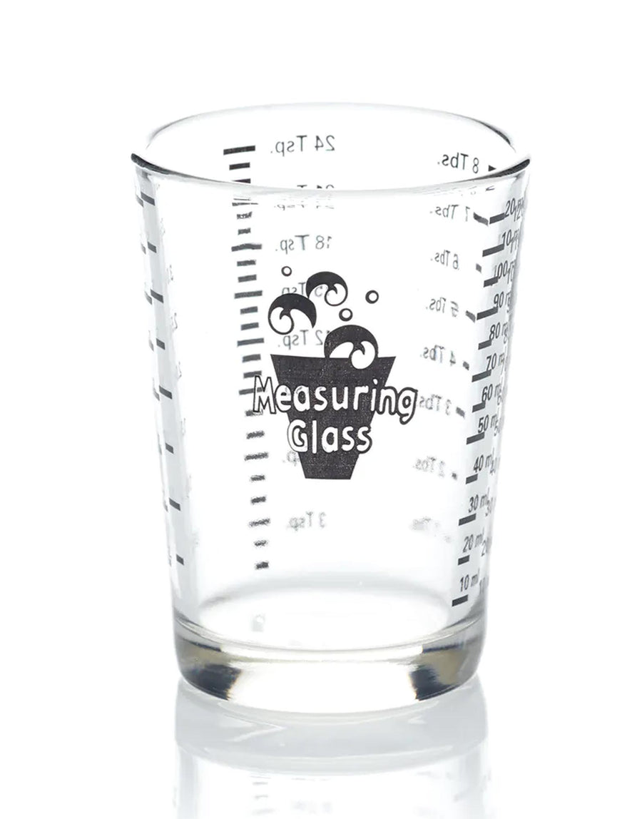 8cm Glass Measure