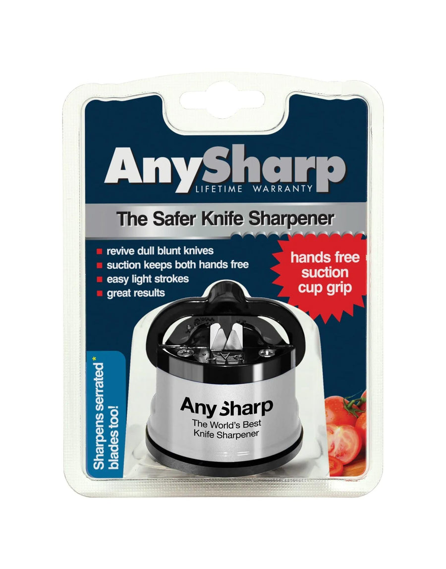Any Sharp Knife Sharpener Silver