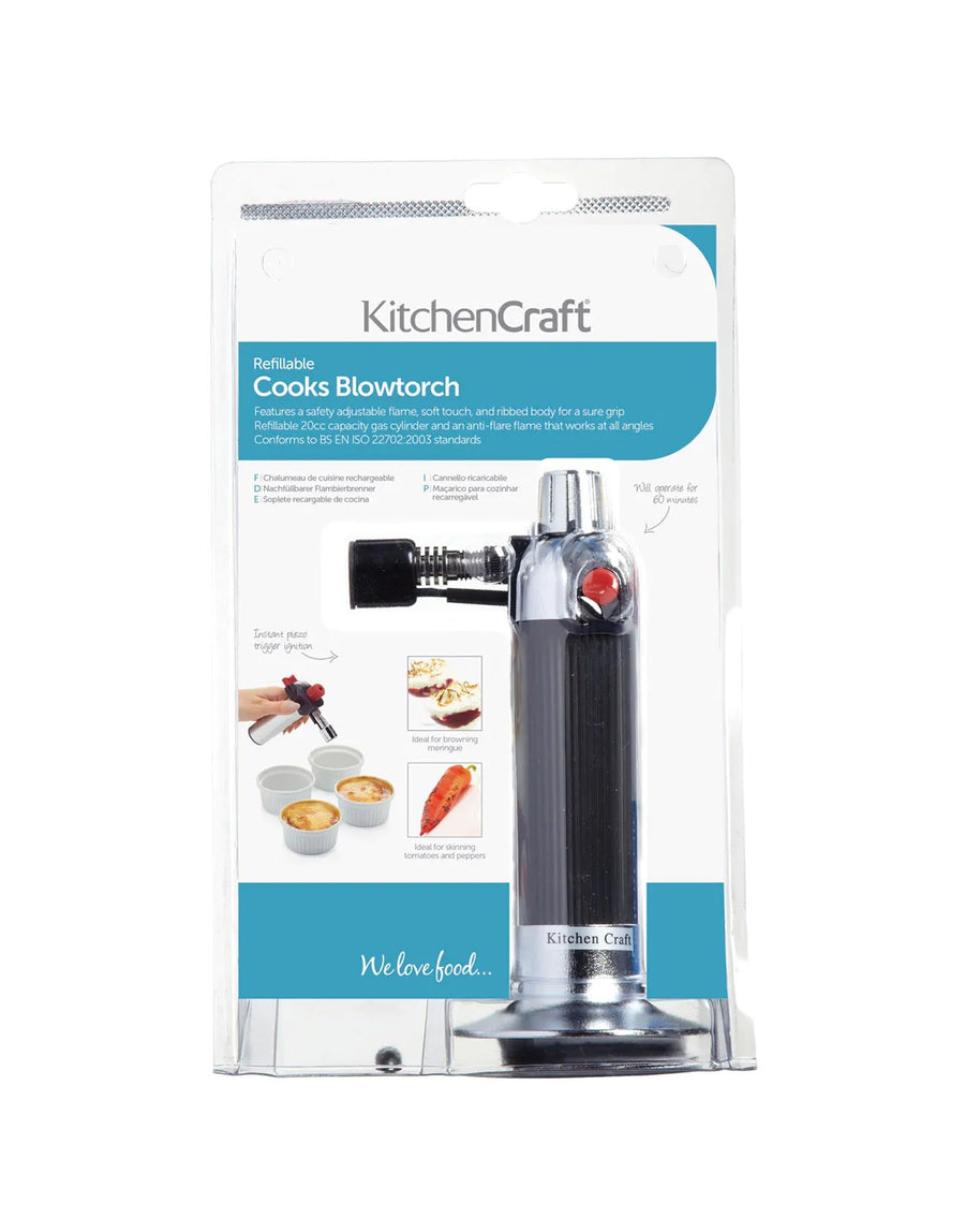 Chromed Cook's Blowtorch