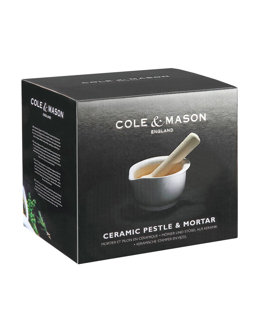 Cole & Mason Ceramic Pestle & Mortar