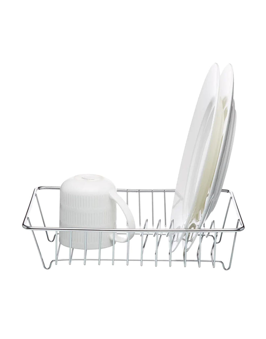 Deluxe Chrome Plated Small Dish Drainer