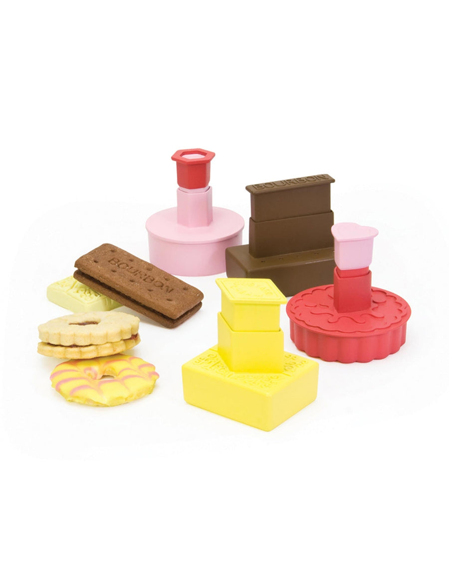 British Biscuit Cookie Cutter Set
