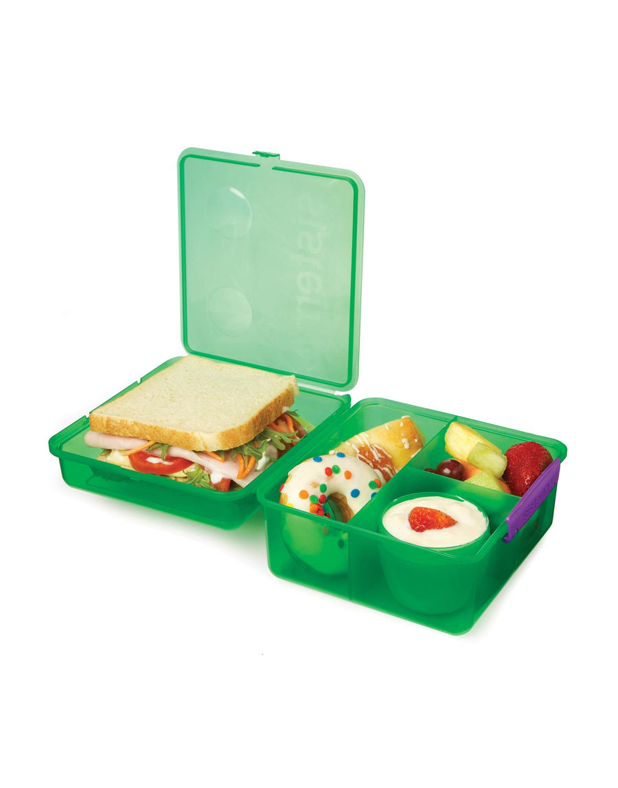 Sistema Lunch Cube Max with Yoghurt Pot 1.4L