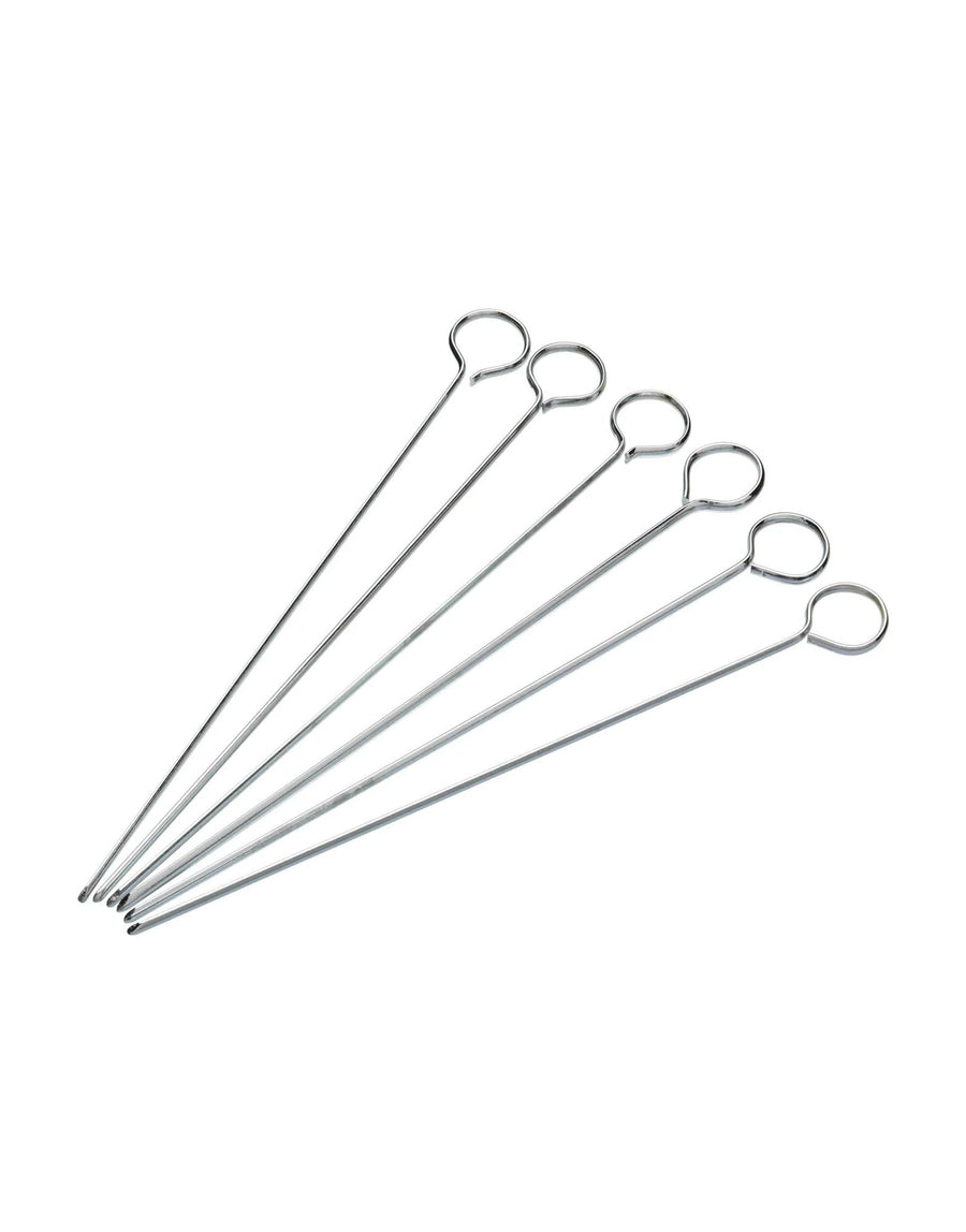 Flat Sided Skewers Pack of Six