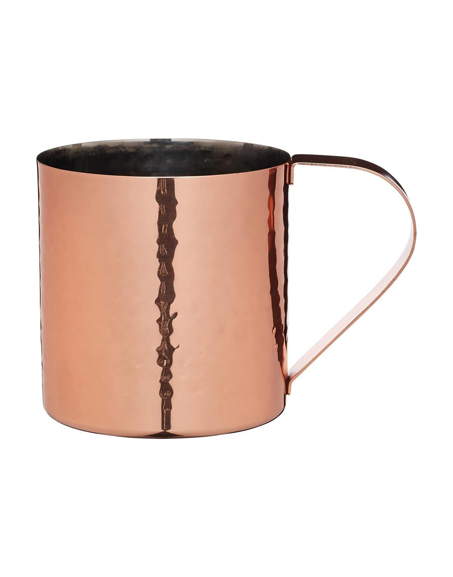 Hammered Copper Finish Moscow Mule Mug 550ml