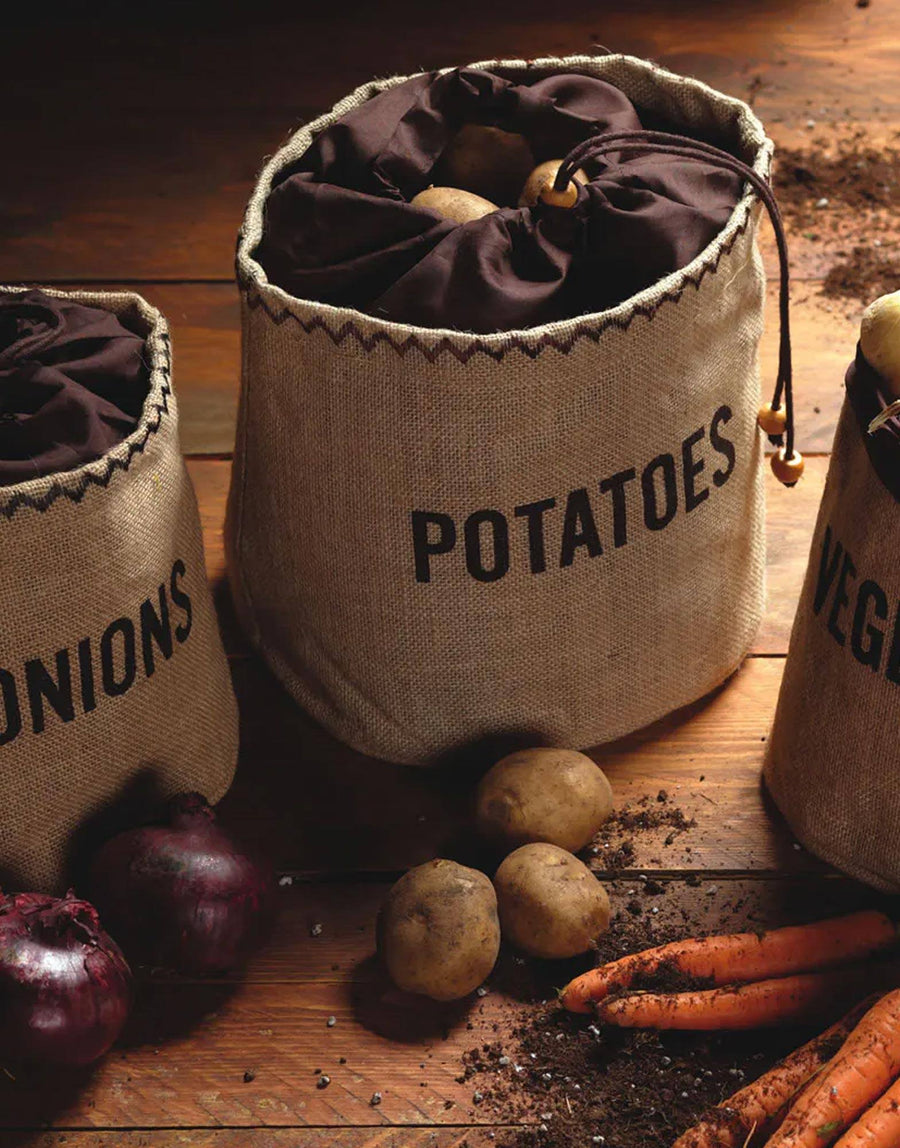 Hessian Potato Preserving Bag with Blackout Lining