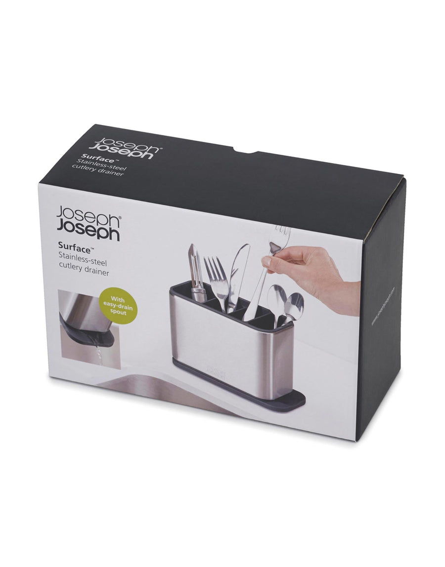 Joseph Joseph Surface Cutlery Drainer Stainless Steel