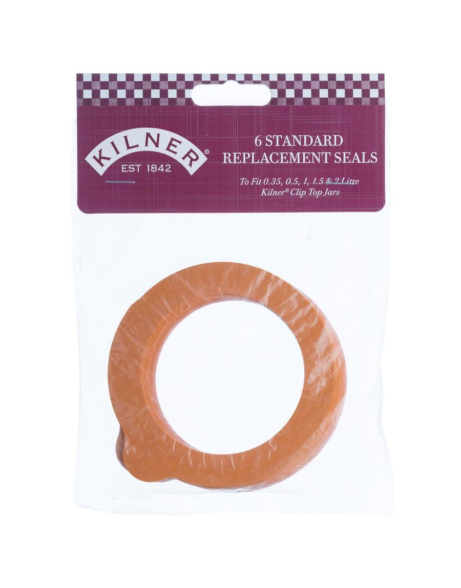 Kilner 6 Pack Standard Rubber Seals