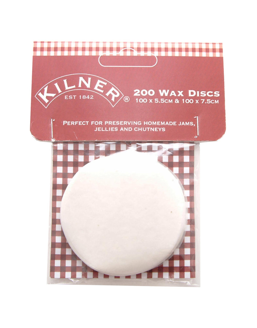 Kilner Pack of 200 Wax Discs