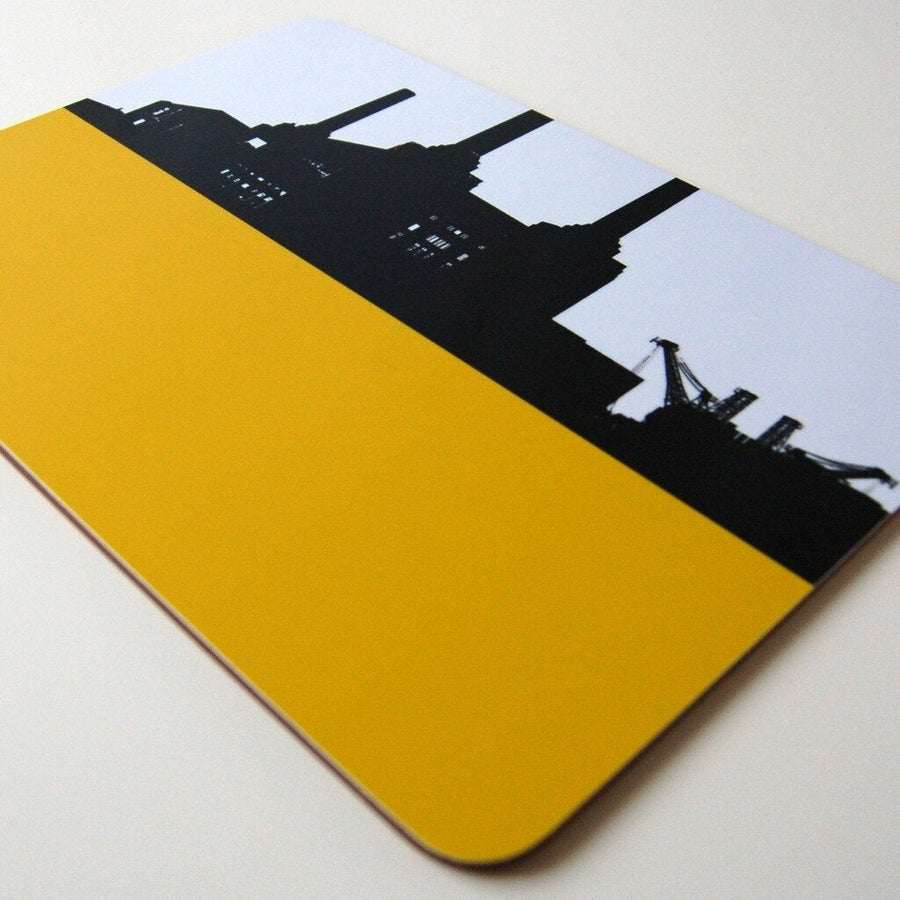 The Art Rooms Table Mat Battersea/Yellow