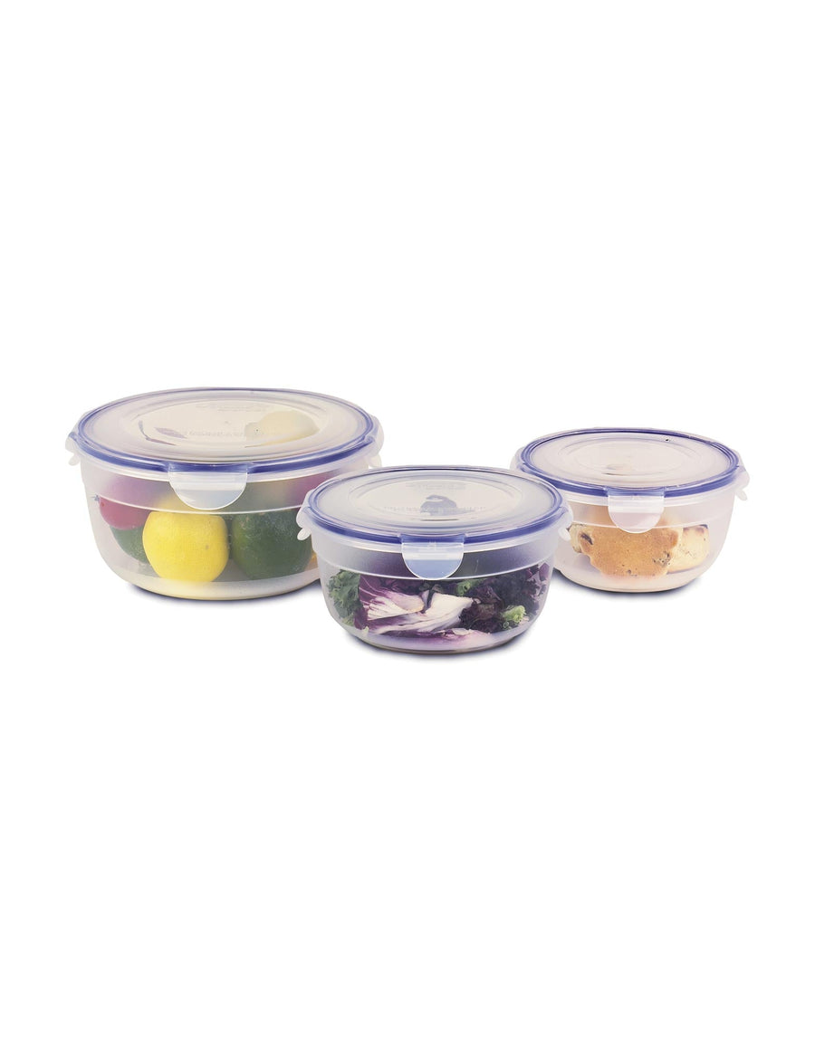 Lock & Lock 3 Bowl Nestable Set